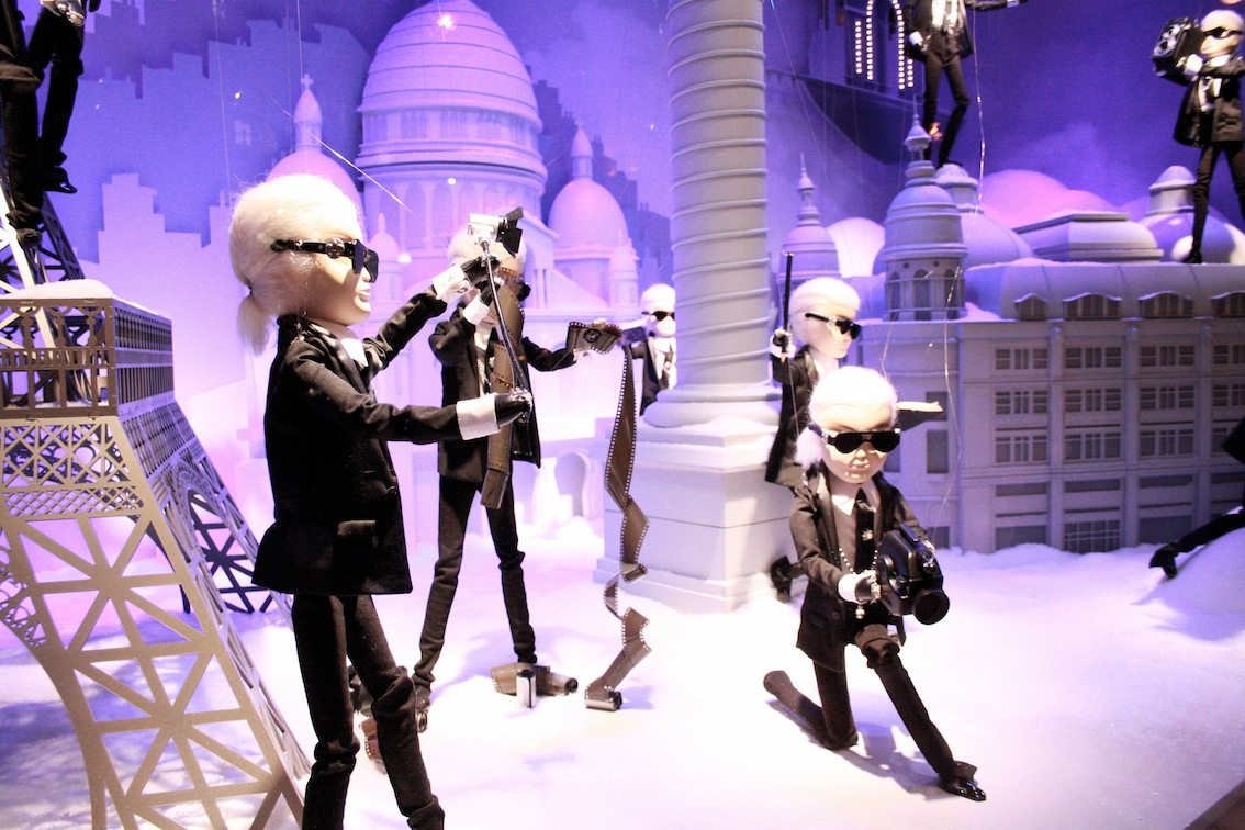 A Girl, A Style_ Chanel Christmas Windows