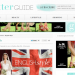 The Glitter Guide: English Style (December 2011)
