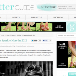 The Glitter Guide: 10 Ways to Sparkle More (January 2012)