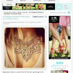 The Glitter Guide: 10 Instagram Brands & Individuals Everyone Should Follow (November 2011)