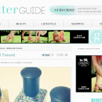 The Glitter Guide: Glittery Manicure Tutorial (December 2011)