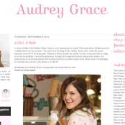Audrey Grace Boutique: Feature (September 2012)