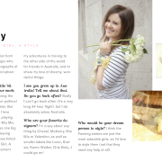 Audrey Grace Magazine: Feature (March 2012)