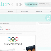 The Glitter Guide: Olympic Style (August 2012)