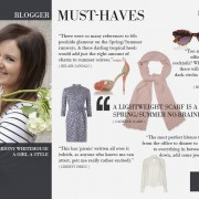 LK Bennett: Our Favourite Bloggers Share Their 'Must Haves' (June 2012)