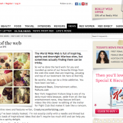 Red Magazine Online: Red Magazine's Favourite Websites (August 2012)