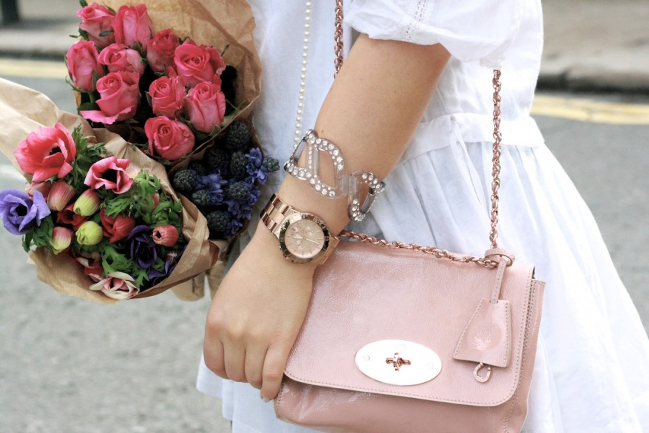 mulberry bag inspiration post soft pink lily