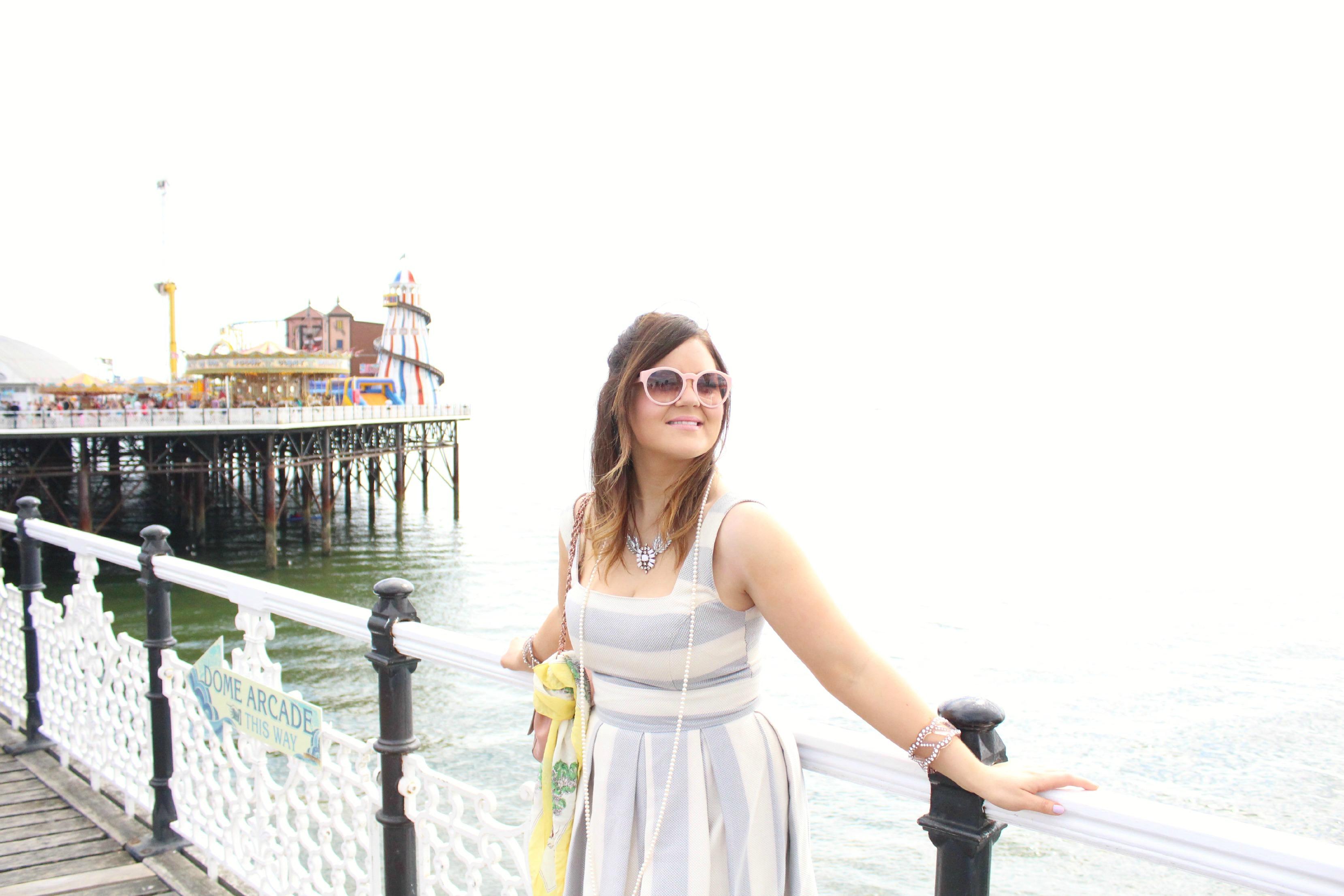 A Girl, A Style _ Brighton Beach