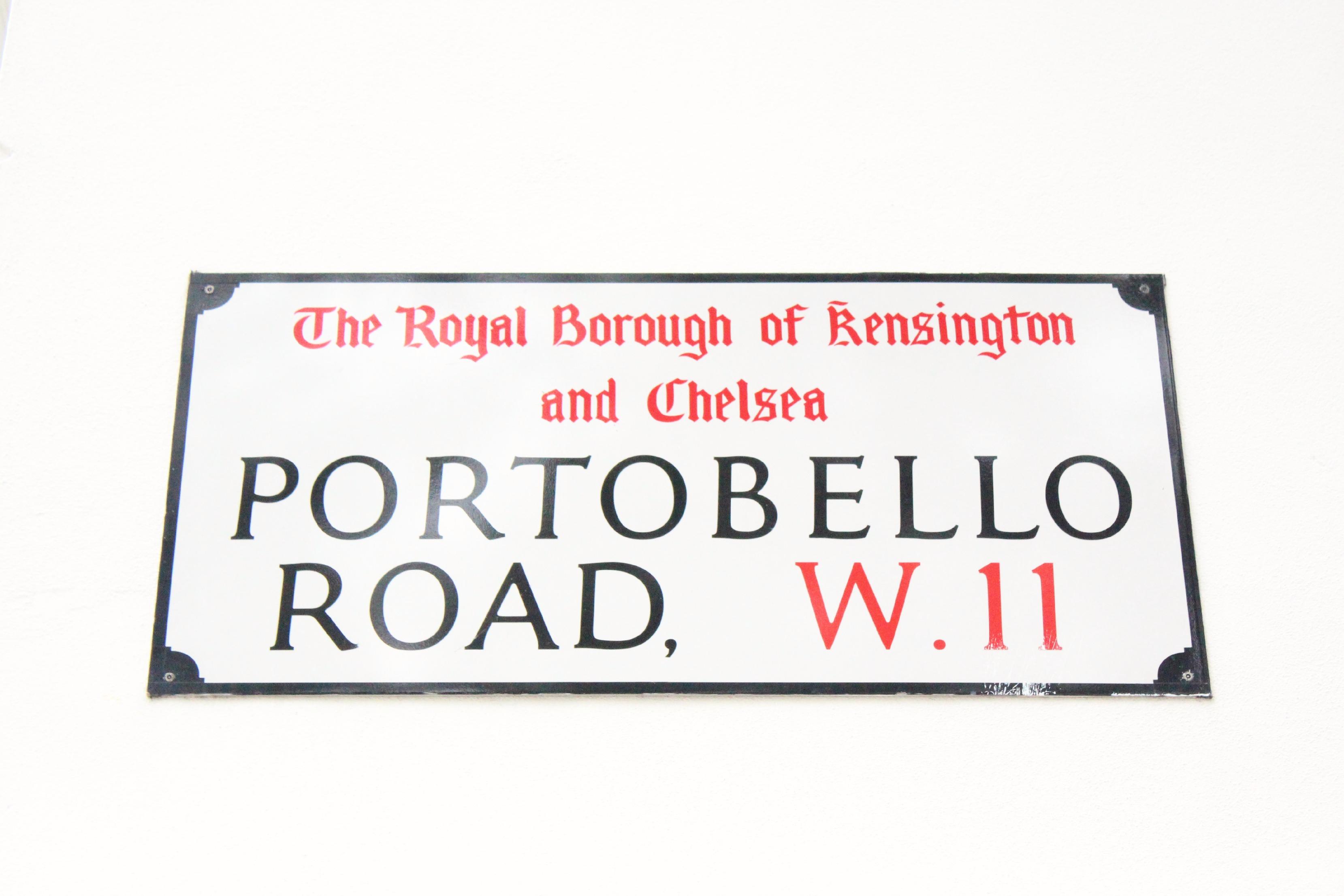 A Girl, A Style _ Portobello Road, Notting Hill