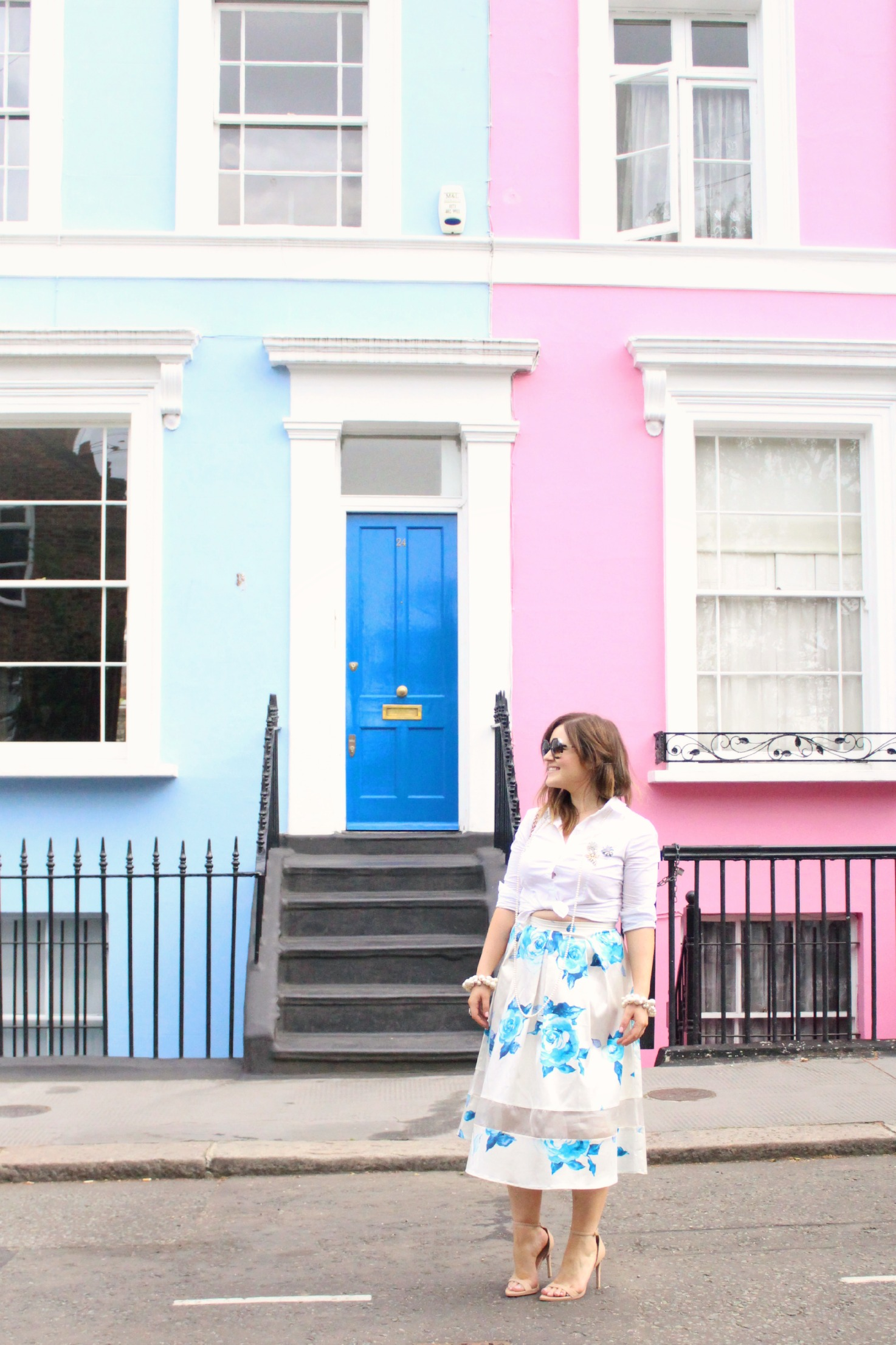 A Girl, A Style _ Pastel Streets in Notting Hill