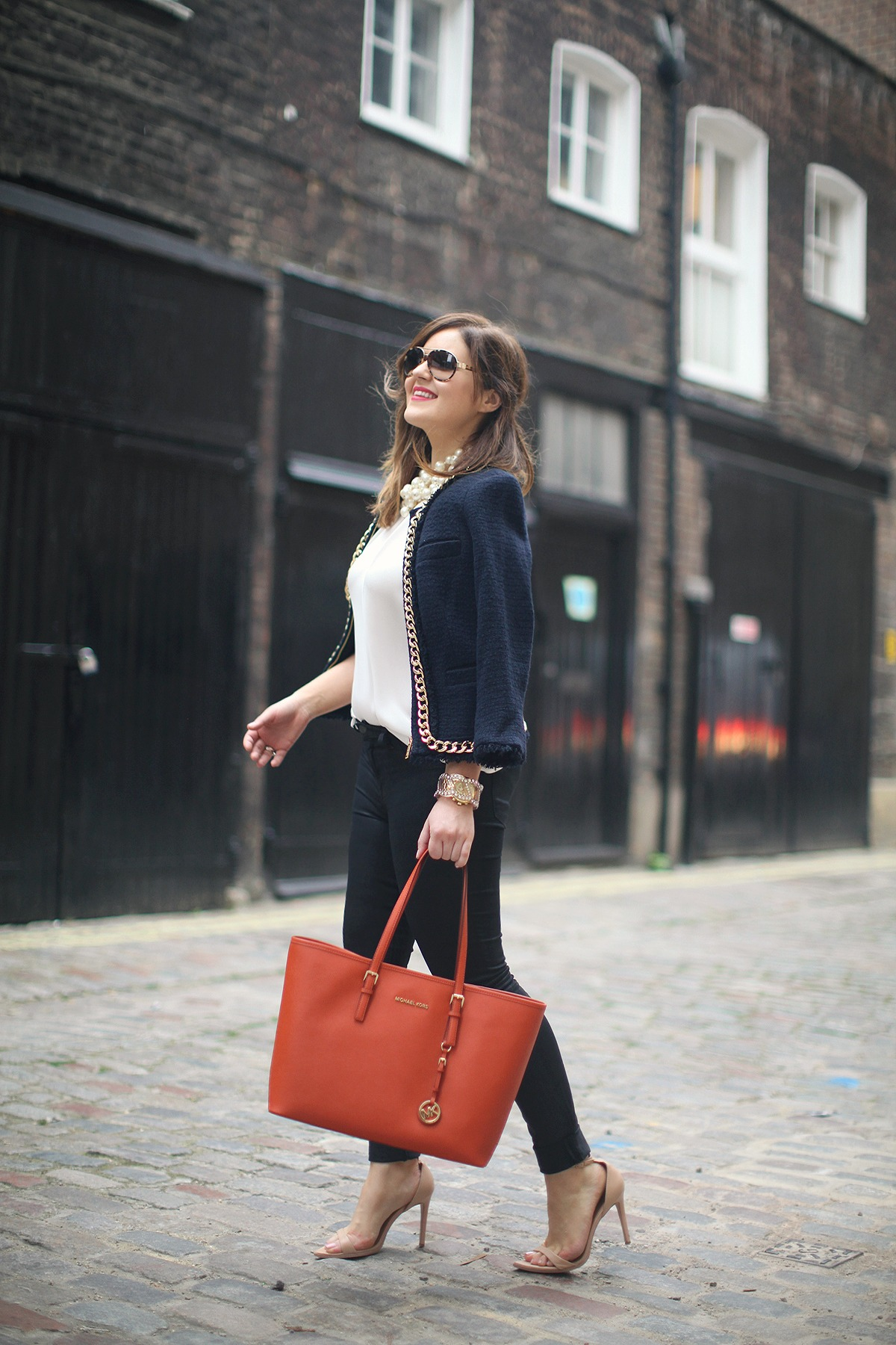 Michael Kors + The Perfect Boucle Jacket