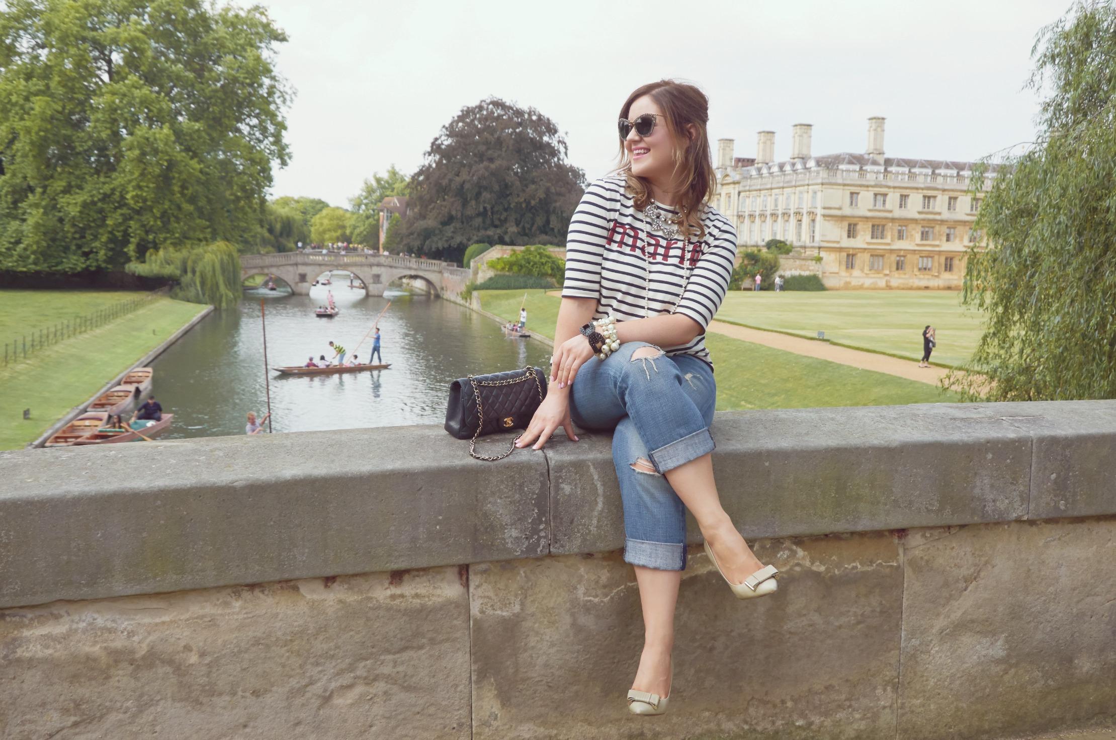 A Girl, A Style _ Breton Stripes + Boyfriend Jeans 6