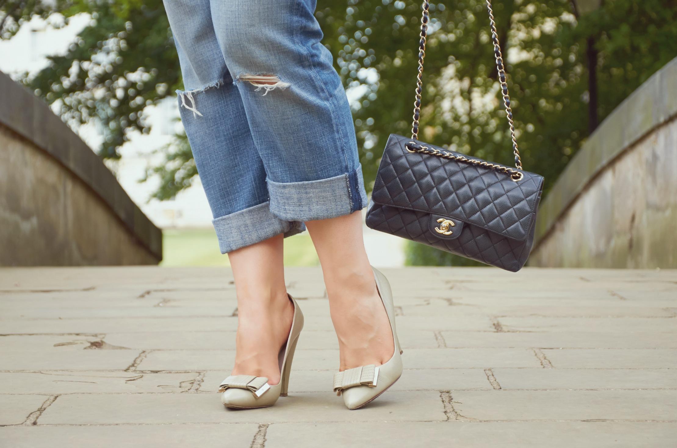 A Girl, A Style _ Breton Stripes + Boyfriend Jeans 7