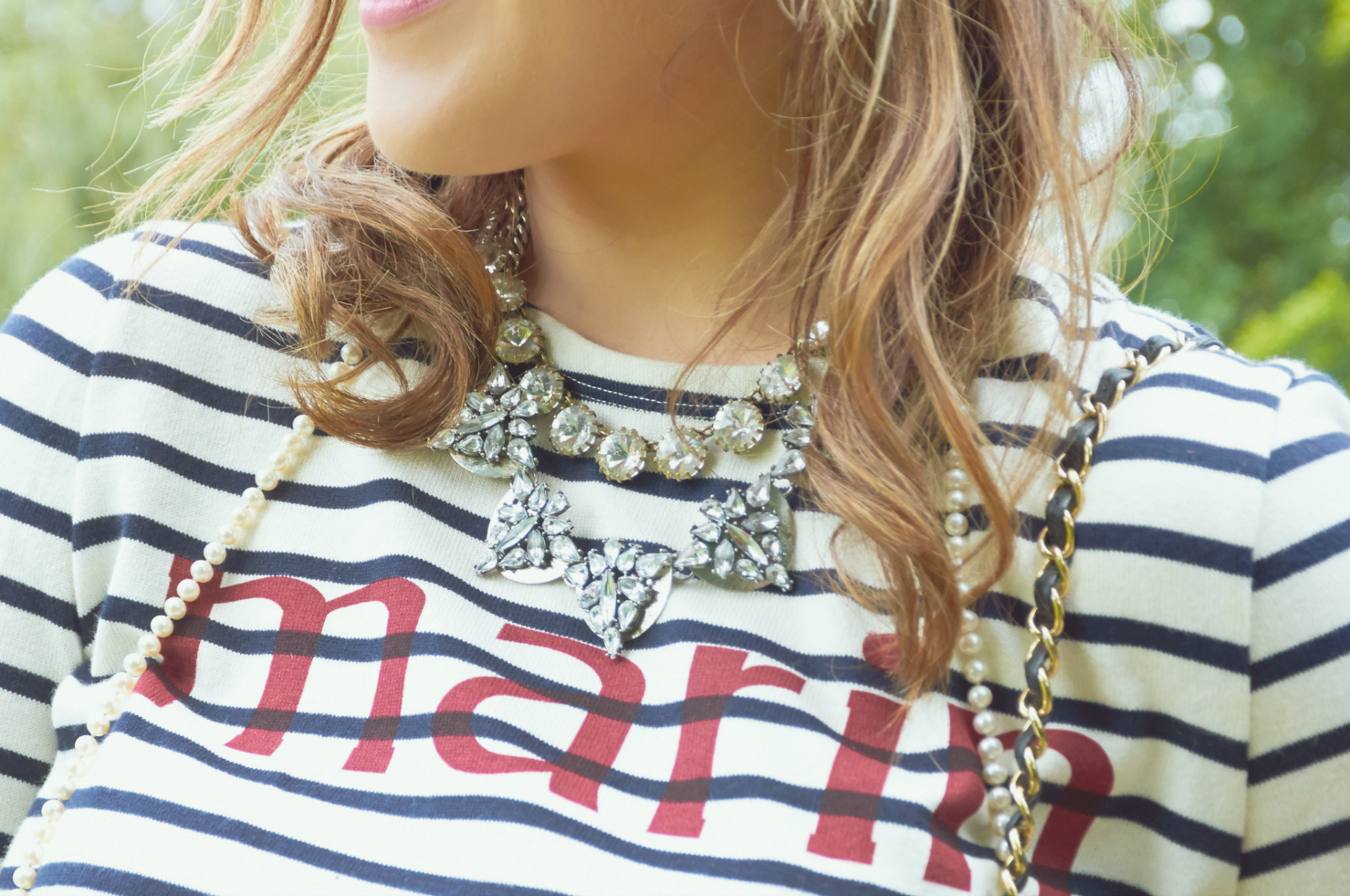 A Girl, A Style _ Breton Stripes + Boyfriend Jeans 8