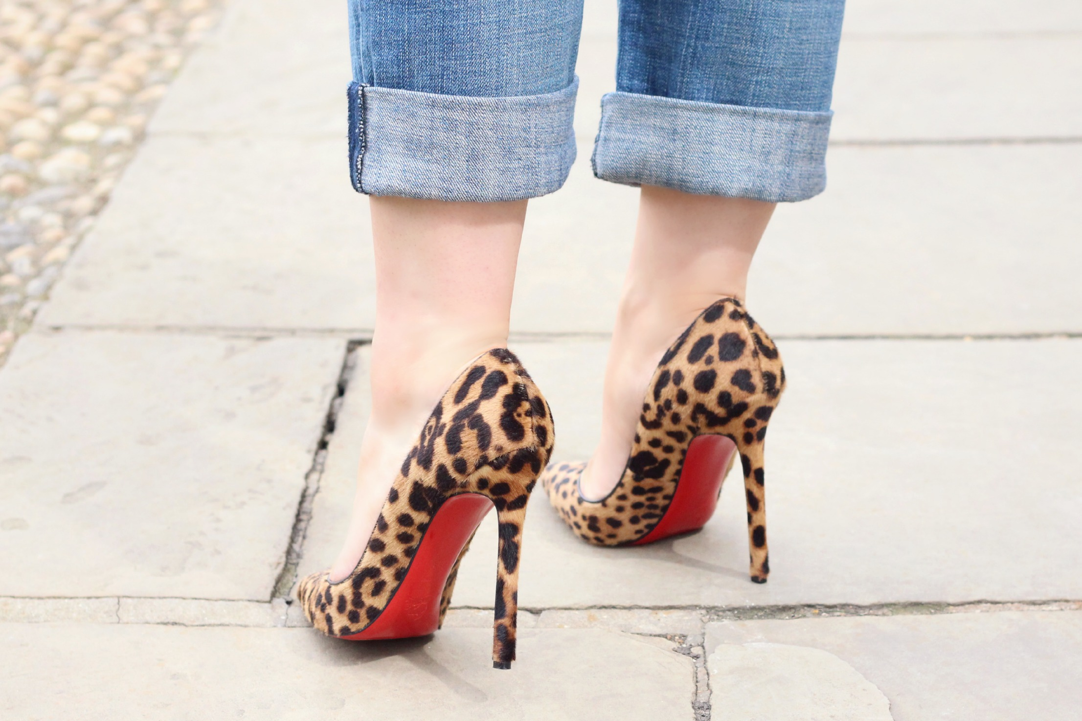 A Girl, A Style _ Leopard Christian Louboutin Pigalle