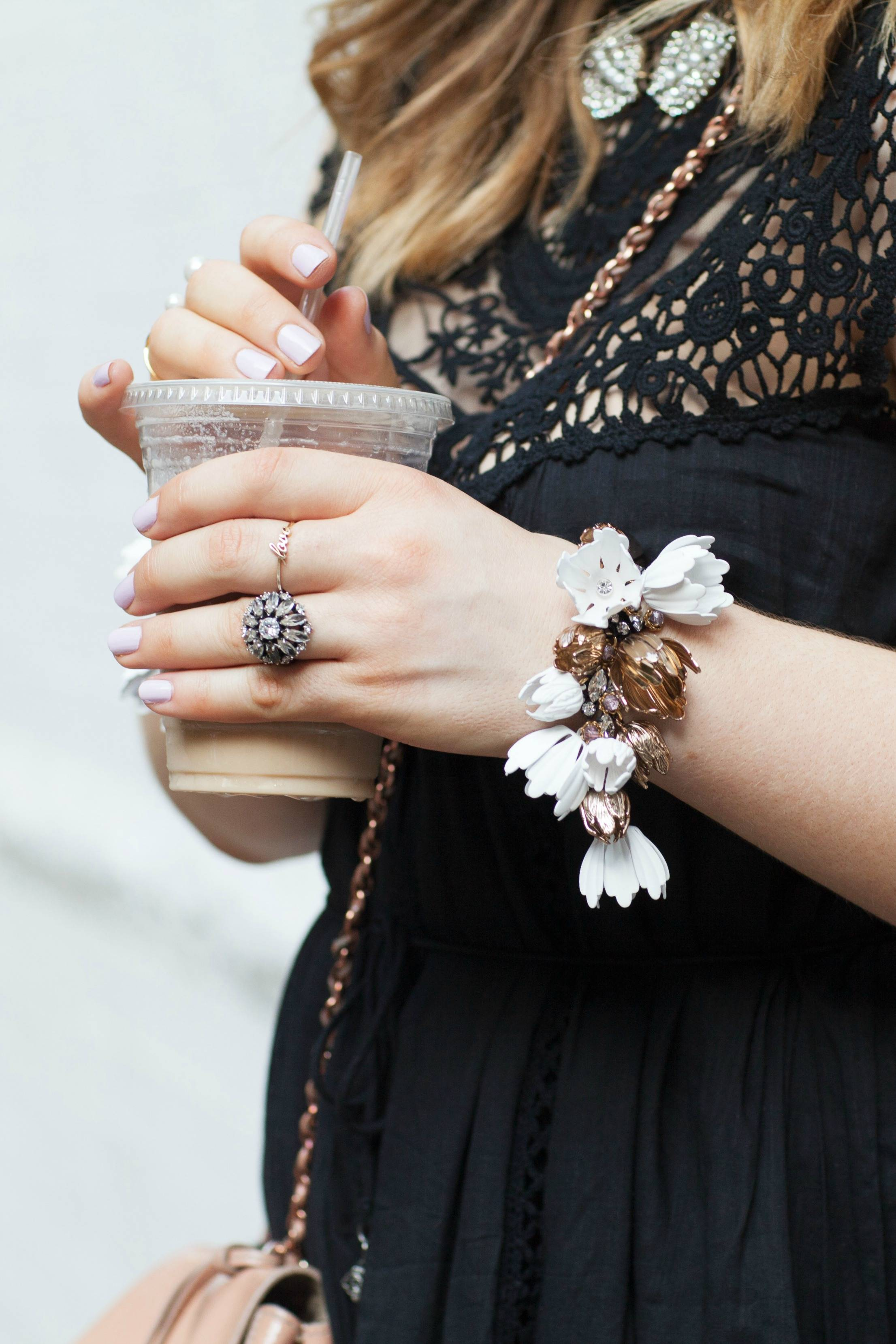 A Girl, A Style _ J Crew Garden Party Bracelet