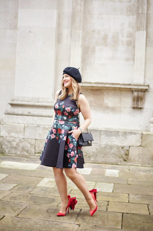 A Girl, A Style _ Erin Featherston Floral Dress