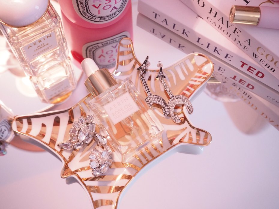 A Girl, A Style _ Aerin Lauder Rose Oil