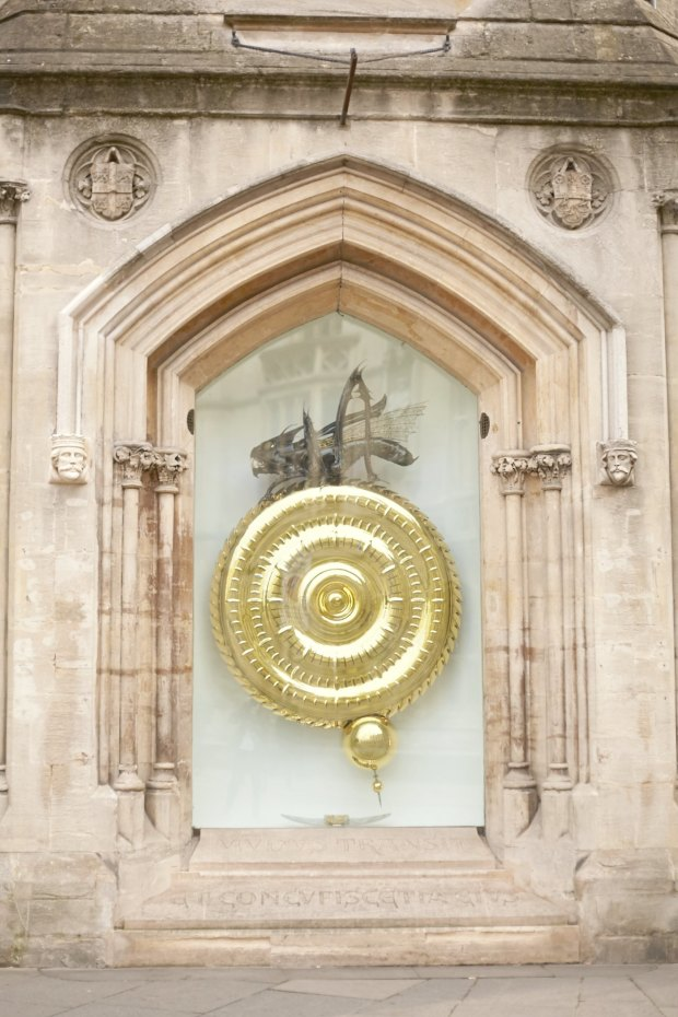 A Girl, A Style _ Corpus Christi Clock Cambridge