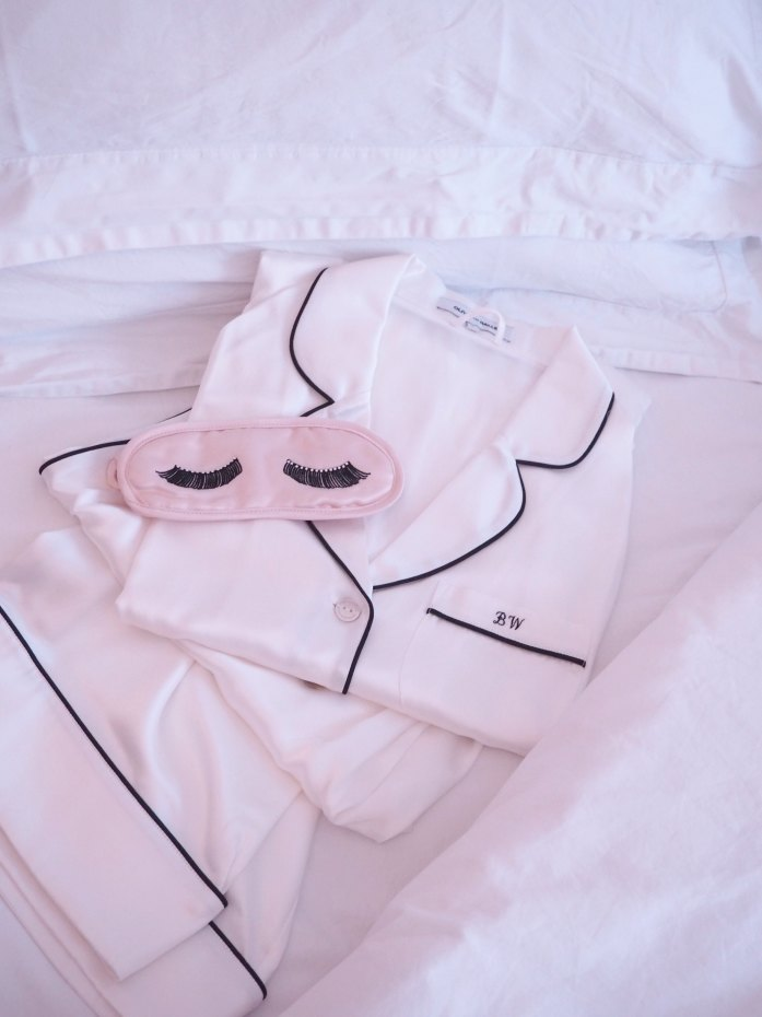 A Girl, A Style _ Olivia Von Halle Pyjamas