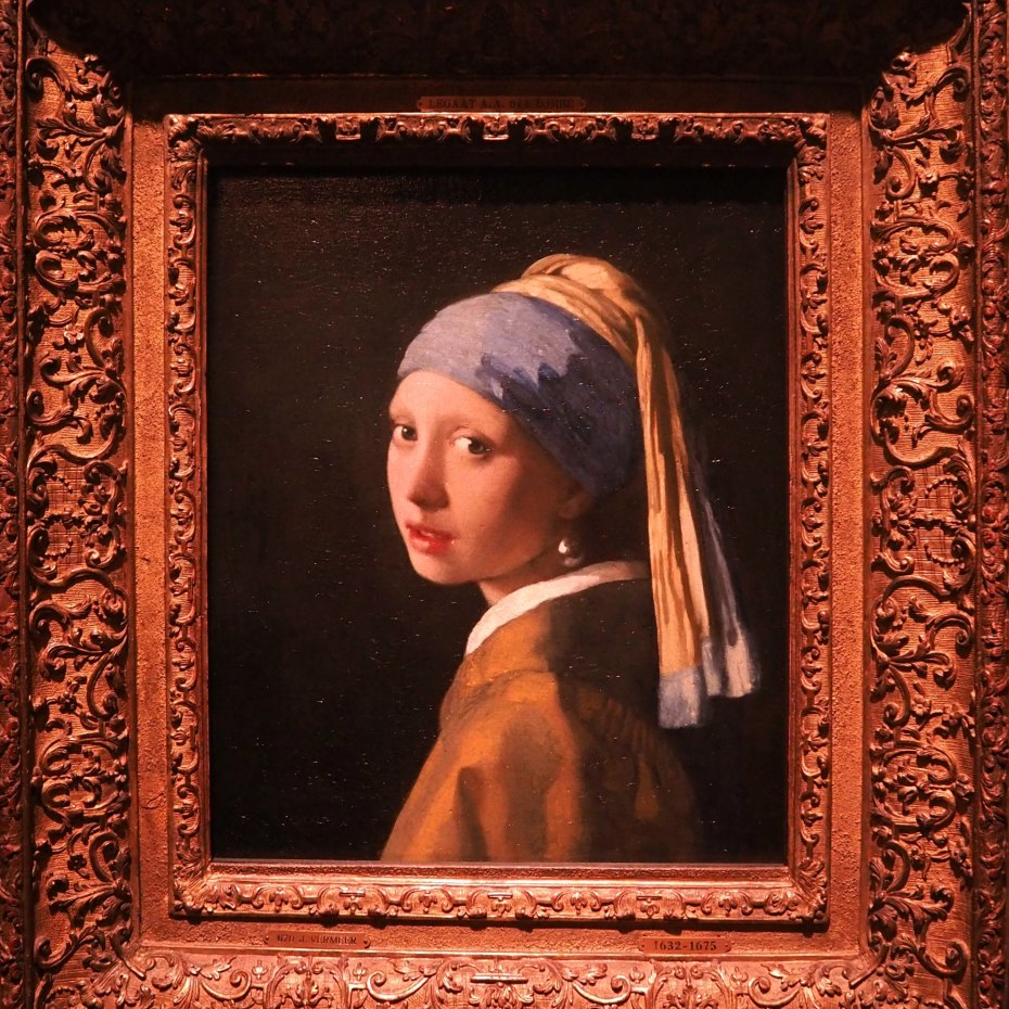 A Girl, A Style _ Vermeer Girl With A Pearl Earring, Mauritshuis, The Hague