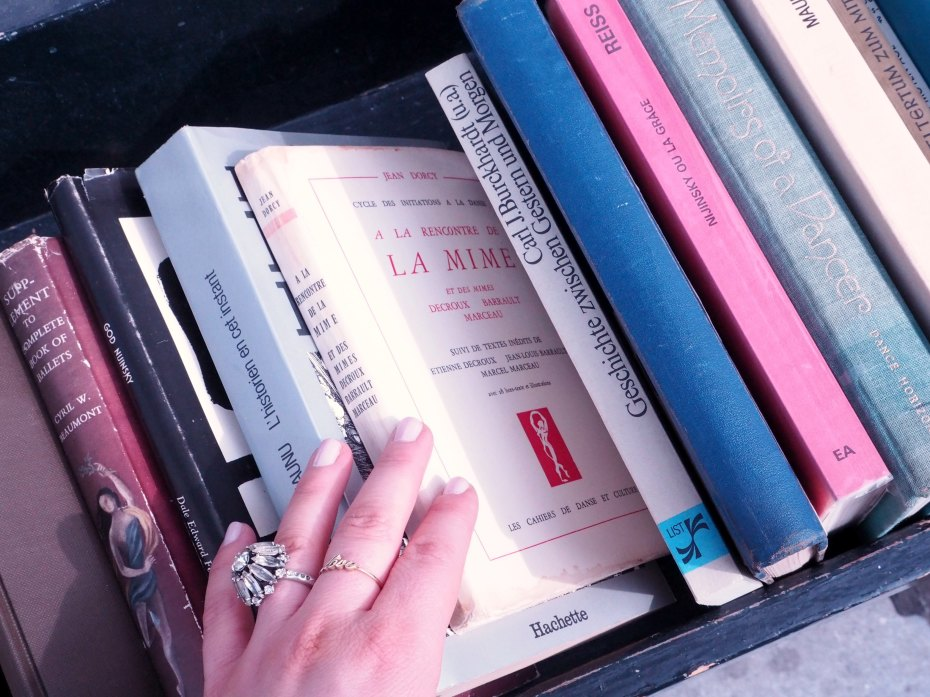 A Girl, A Style _ Vintage Books, Amsterdam Netherlands