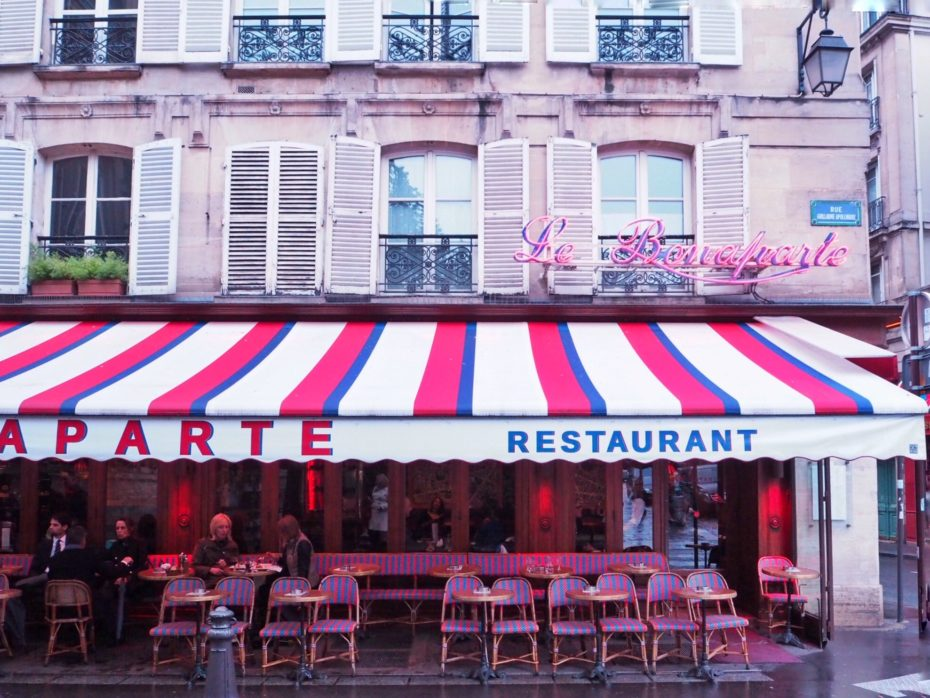 A Girl, A Style: Cafe Bonaparte, Paris