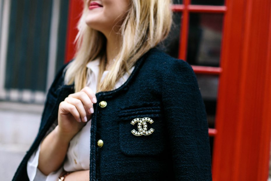 A Girl, A Style _ Chanel + J.Crew Lady Jacket