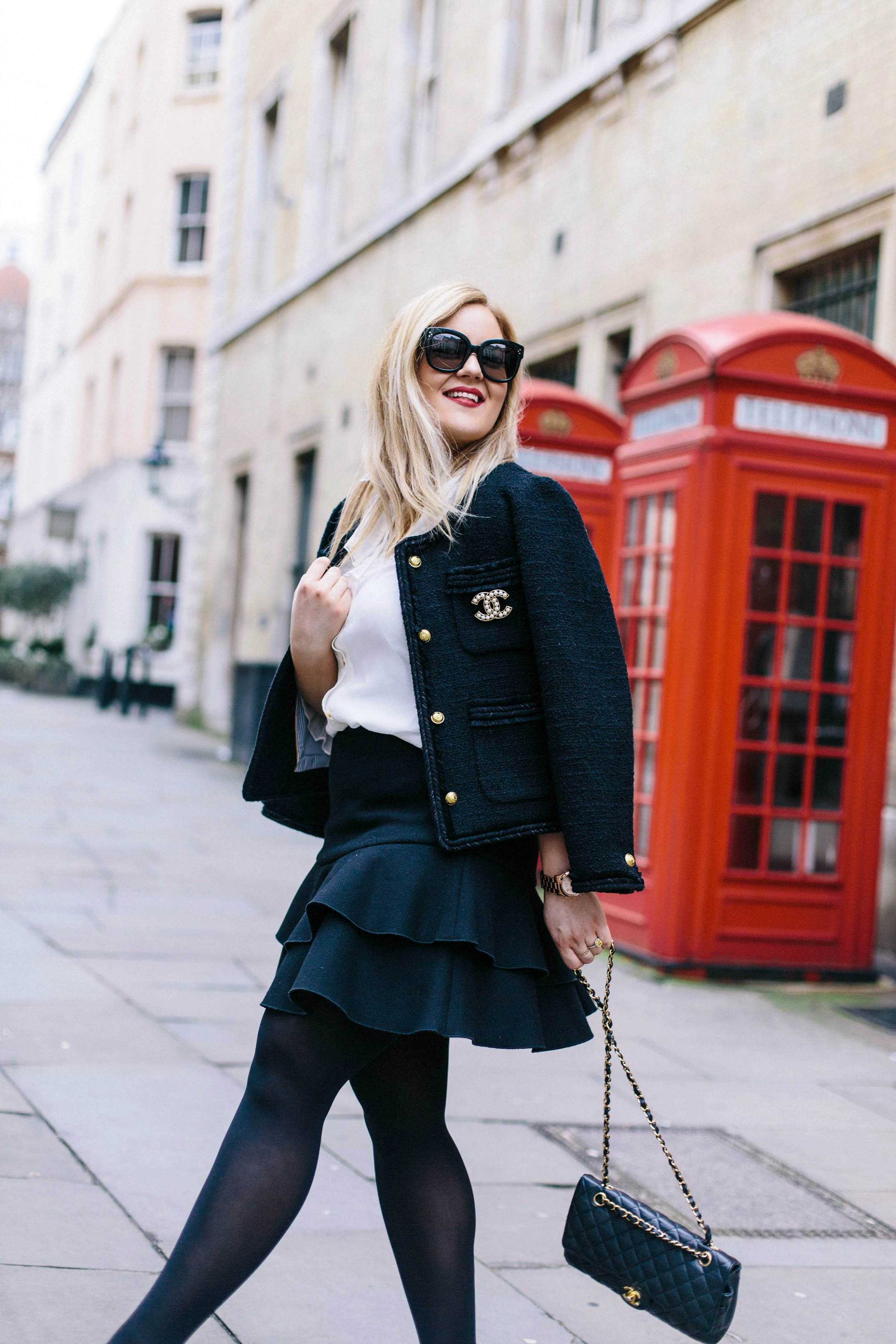 A Girl, A Style _ Little Black Jacket 3