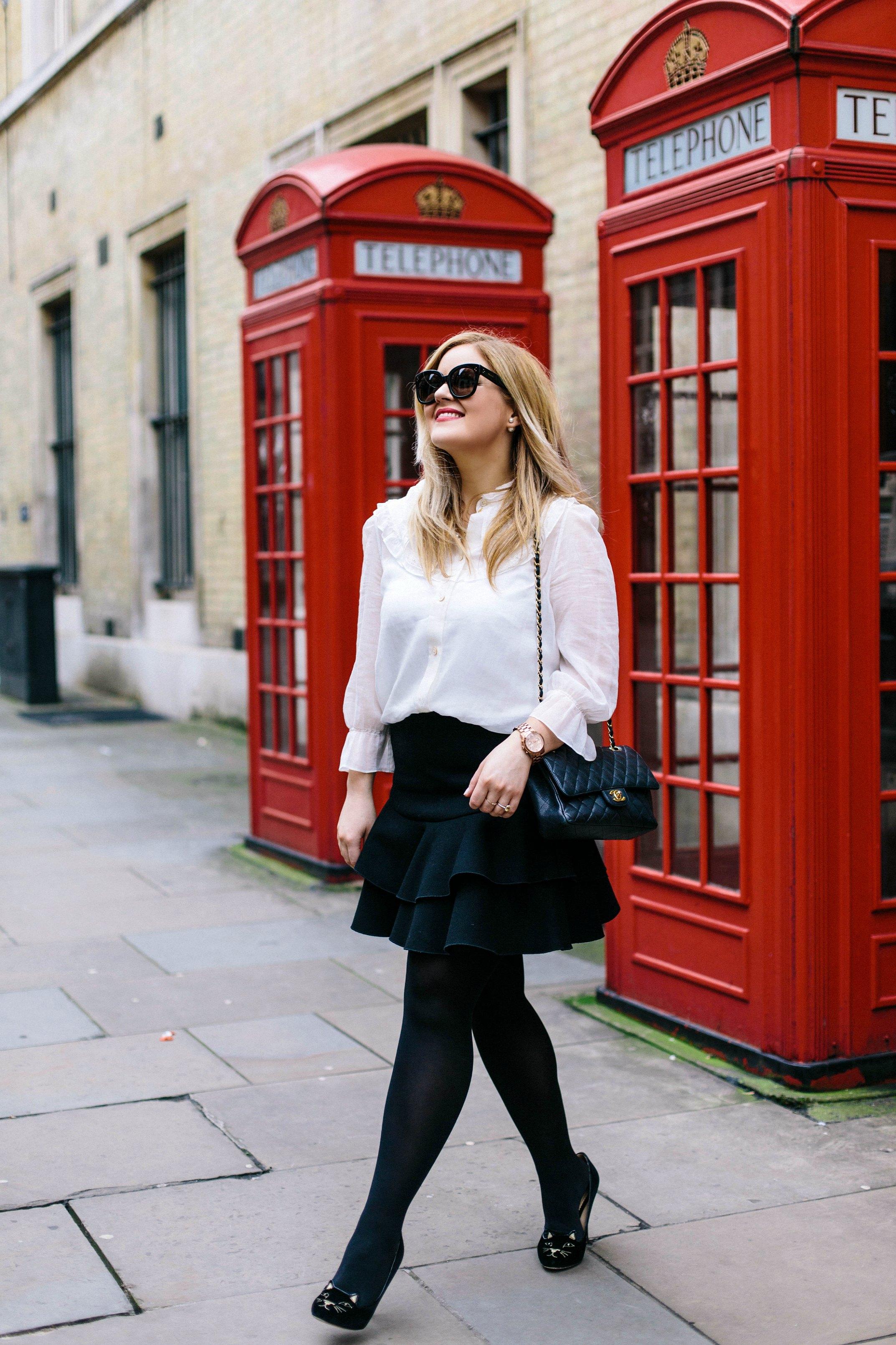A Girl, A Style _ Little Black Jacket 5