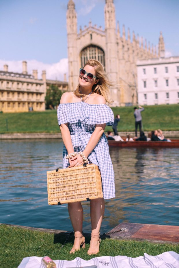A Girl, A Style _ Anthropologie Kinsey Gingham Dress