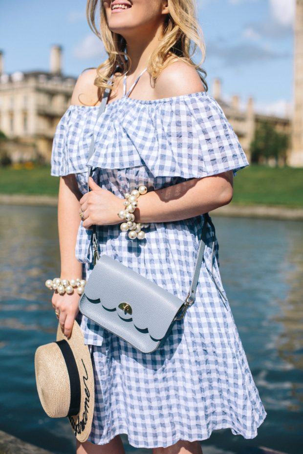 A Girl, A Style _ Cambridge Satchel French Blue Cloud Bag