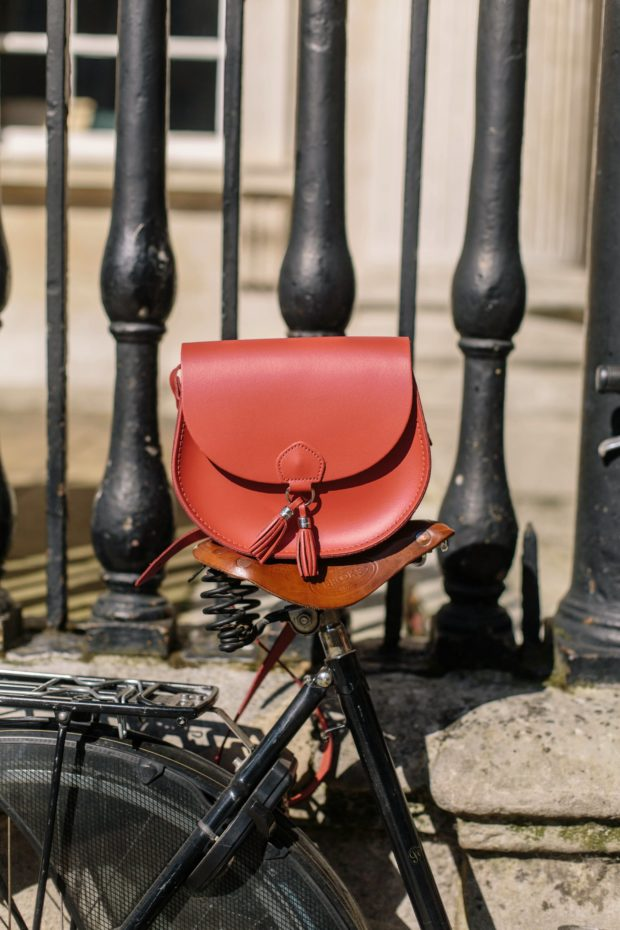 A Girl, A Style _ Cambridge Satchel Co Tassel Bag Crimson