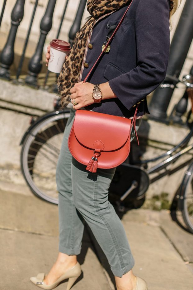 A Girl, A Style _ Gap Chinos